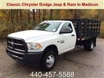 2018 Ram 3500 Regular Cab DRW 4x2,  Knapheide Stake Bed #E21474 - photo 1