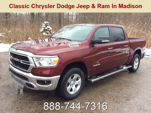 2019 Ram 1500 Crew Cab 4x4,  Pickup #E21584 - photo 1