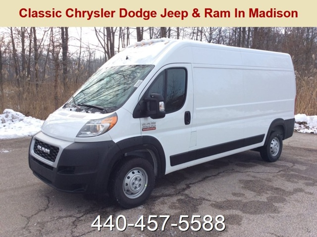 2019 ProMaster 2500 High Roof FWD,  Empty Cargo Van #E21605 - photo 1