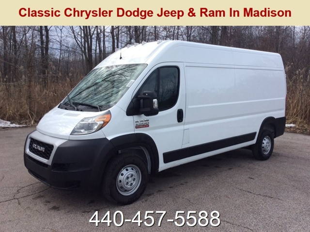 2019 ProMaster 2500 High Roof FWD,  Empty Cargo Van #E21623 - photo 1