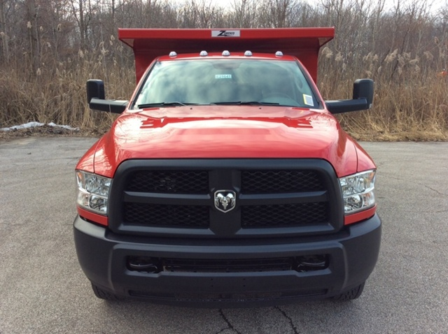 2018 Ram 3500 Regular Cab DRW 4x4,  Rugby Dump Body #E21641 - photo 3