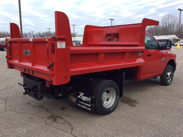2018 Ram 3500 Regular Cab DRW 4x4,  Rugby Dump Body #E21641 - photo 6