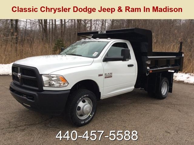 2018 Ram 3500 Regular Cab DRW 4x4,  Rugby Z-Spec Dump Body #E21678 - photo 1
