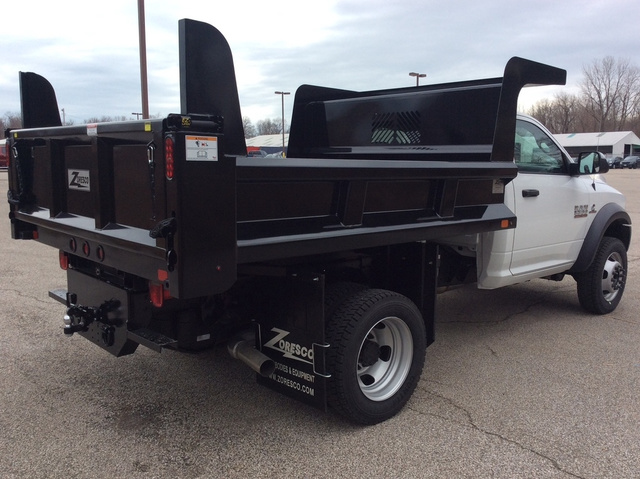 2018 Ram 5500 Regular Cab DRW 4x4,  Rugby Z-Spec Dump Body #E21838 - photo 6