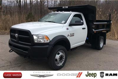 2018 Ram 5500 Regular Cab DRW 4x4,  Rugby Z-Spec Dump Body #E21838 - photo 1