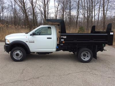 2018 Ram 5500 Regular Cab DRW 4x4,  Rugby Z-Spec Dump Body #E21838 - photo 4