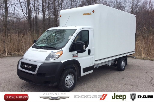 2019 ProMaster 3500 Standard Roof FWD,  Unicell Cutaway Van #E21904 - photo 1