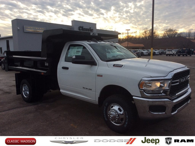 2019 Ram 3500 Regular Cab DRW 4x4,  Cab Chassis #E22131 - photo 1