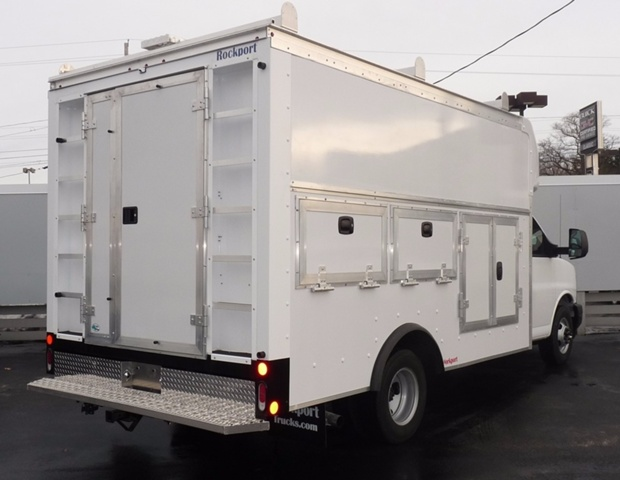 2017 Savana 3500, Rockport Service Utility Van #38468 - photo 2