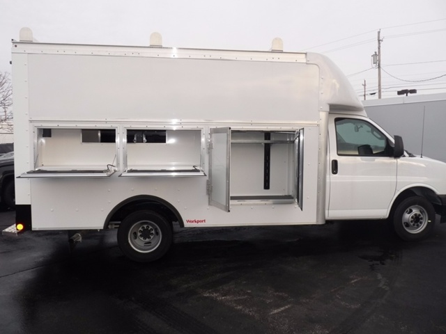 2017 Savana 3500, Rockport Service Utility Van #38468 - photo 6