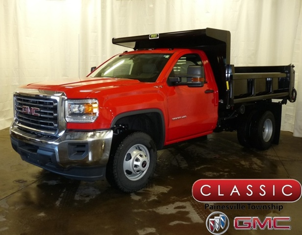 2017 Sierra 3500 Regular Cab DRW 4x4,  Air-Flo Pro-Class Dump Body #38675 - photo 1