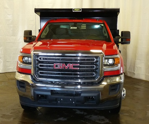 2017 Sierra 3500 Regular Cab DRW 4x4,  Air-Flo Pro-Class Dump Body #38675 - photo 4