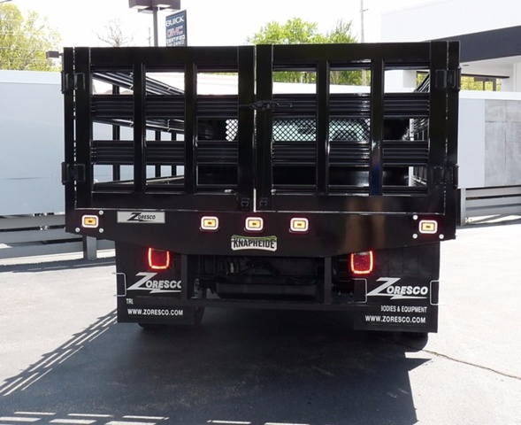 2017 Sierra 3500 Regular Cab DRW, Knapheide Stake Bed #38989 - photo 3