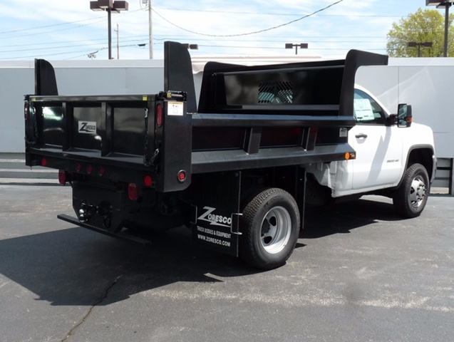 2017 Sierra 3500 Regular Cab 4x4, Rugby Dump Body #38991 - photo 2