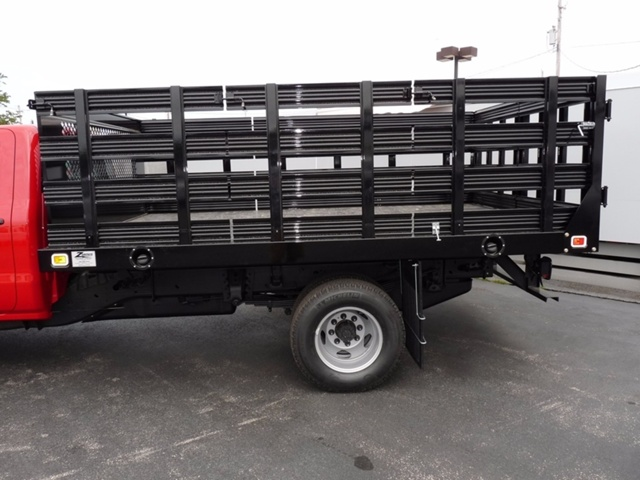 2017 Sierra 3500 Regular Cab, Knapheide Stake Bed #39025 - photo 12