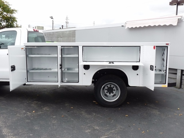 2017 Sierra 3500 Regular Cab, Knapheide Service Body #39322 - photo 5