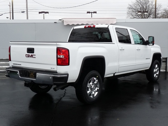 2018 Sierra 2500 Crew Cab 4x4, Pickup #39679 - photo 2