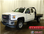 2018 Sierra 2500 Extended Cab 4x4,  DewEze Platform Body #39695 - photo 1