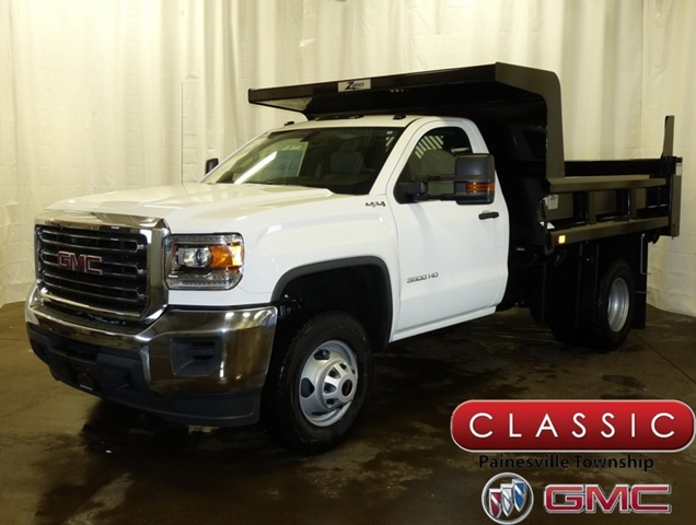 2017 Sierra 3500 Regular Cab DRW 4x4,  Rugby Z-Spec Dump Body #39777 - photo 1