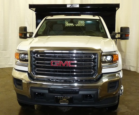 2017 Sierra 3500 Regular Cab DRW 4x4, Rugby Dump Body #39777 - photo 4