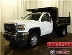 2017 Sierra 3500 Regular Cab DRW 4x4, Rugby Dump Body #39777 - photo 1