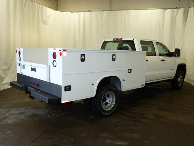 2018 Sierra 3500 Crew Cab DRW 4x4, Knapheide Service Body #39820 - photo 2