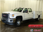 2018 Sierra 3500 Crew Cab DRW 4x4, Knapheide Service Body #39820 - photo 1