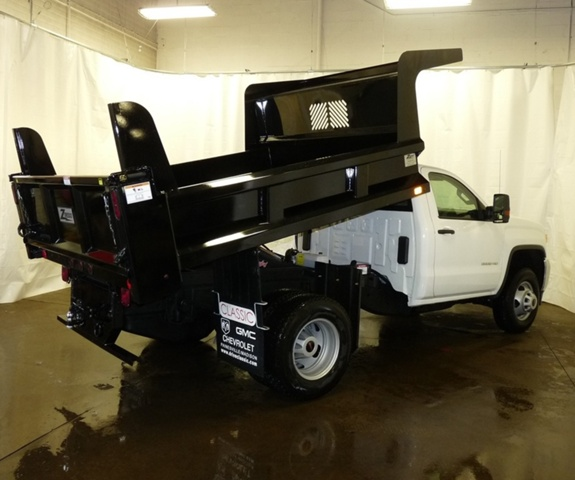 2017 Sierra 3500 Regular Cab DRW, Rugby Dump Body #39866 - photo 13