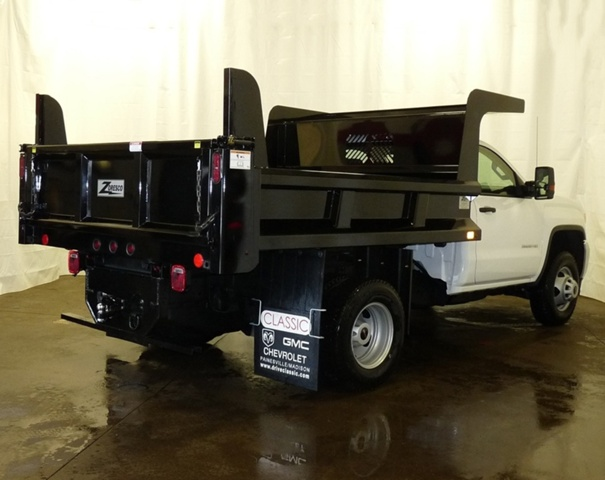 2017 Sierra 3500 Regular Cab DRW, Rugby Dump Body #39866 - photo 2
