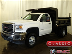 2017 Sierra 3500 Regular Cab DRW, Rugby Dump Body #39866 - photo 1