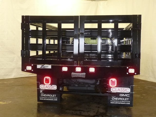 2017 Sierra 3500 Regular Cab DRW, Knapheide Stake Bed #39946 - photo 3