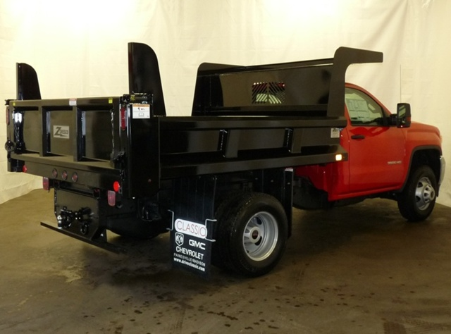 2017 Sierra 3500 Regular Cab DRW, Rugby Dump Body #39973 - photo 2