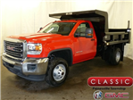 2017 Sierra 3500 Regular Cab DRW, Rugby Dump Body #39973 - photo 1