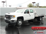 2018 Sierra 3500 Crew Cab DRW 4x4, Hillsboro Platform Body #40132 - photo 1