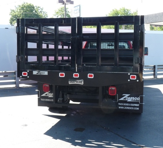2018 Sierra 3500 Regular Cab DRW 4x2,  Knapheide Stake Bed #40431 - photo 3