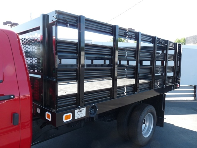 2018 Sierra 3500 Regular Cab DRW 4x2,  Knapheide Stake Bed #40431 - photo 7