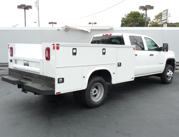 2019 Sierra 3500 Crew Cab DRW 4x4,  Knapheide Service Body #40472 - photo 2