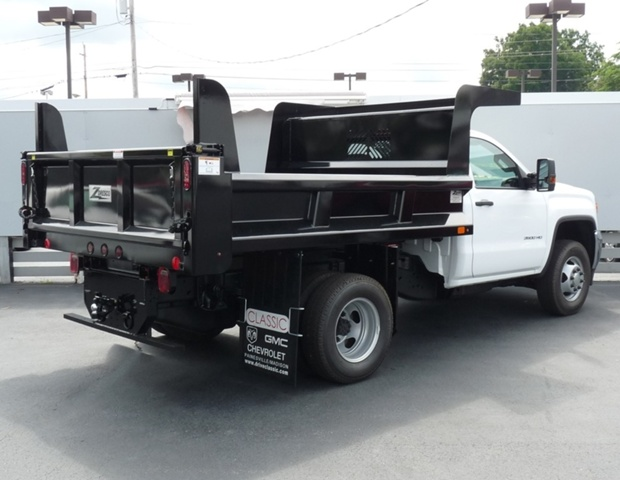 2019 Sierra 3500 Regular Cab DRW 4x4,  Rugby Dump Body #40506 - photo 2
