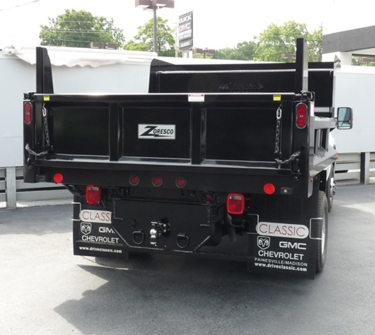 2019 Sierra 3500 Regular Cab DRW 4x4,  Rugby Dump Body #40506 - photo 3