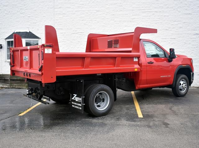 2021 Sierra 3500 Regular Cab 4x4,  Zoresco Equipment Dump Body #43709 - photo 2