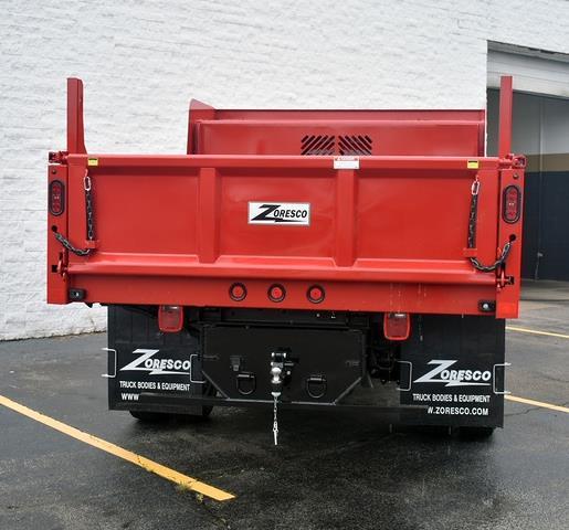 2021 Sierra 3500 Regular Cab 4x4,  Zoresco Equipment Dump Body #43709 - photo 3