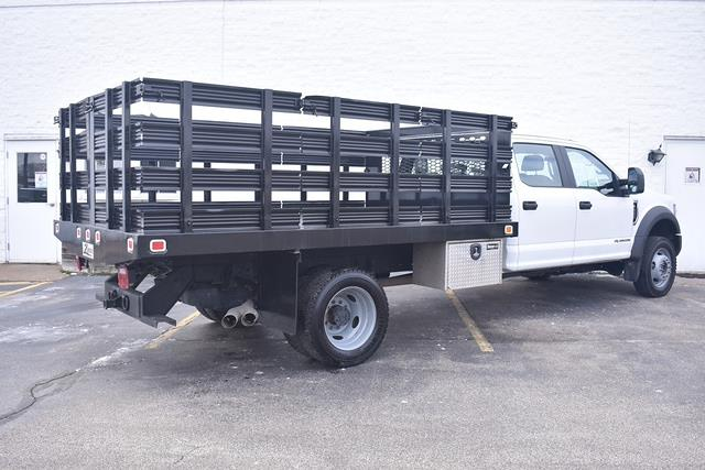 2019 Ford F-550 Crew Cab DRW 4x4, Stake Bed #P10890 - photo 1