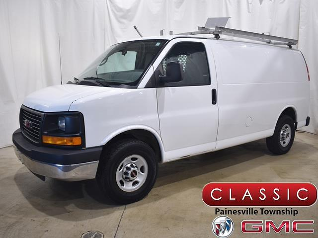 2014 GMC Savana 3500 4x2, Upfitted Cargo Van #P10916 - photo 1