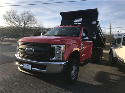 2017 F-350 Regular Cab DRW 4x4, Dump Body #PC0326 - photo 8