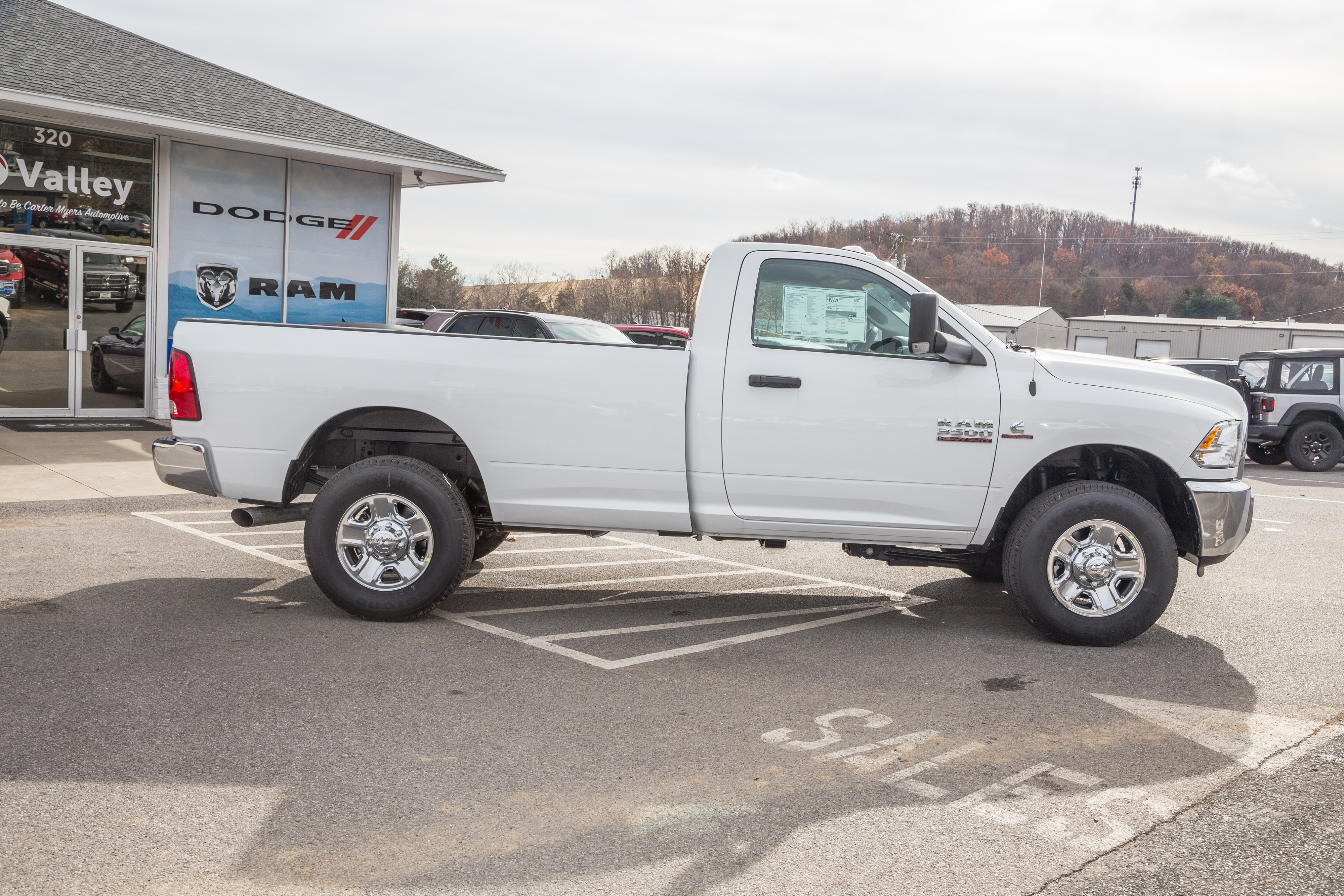 2018 Ram 3500 Regular Cab 4x4,  Pickup #R61342 - photo 8