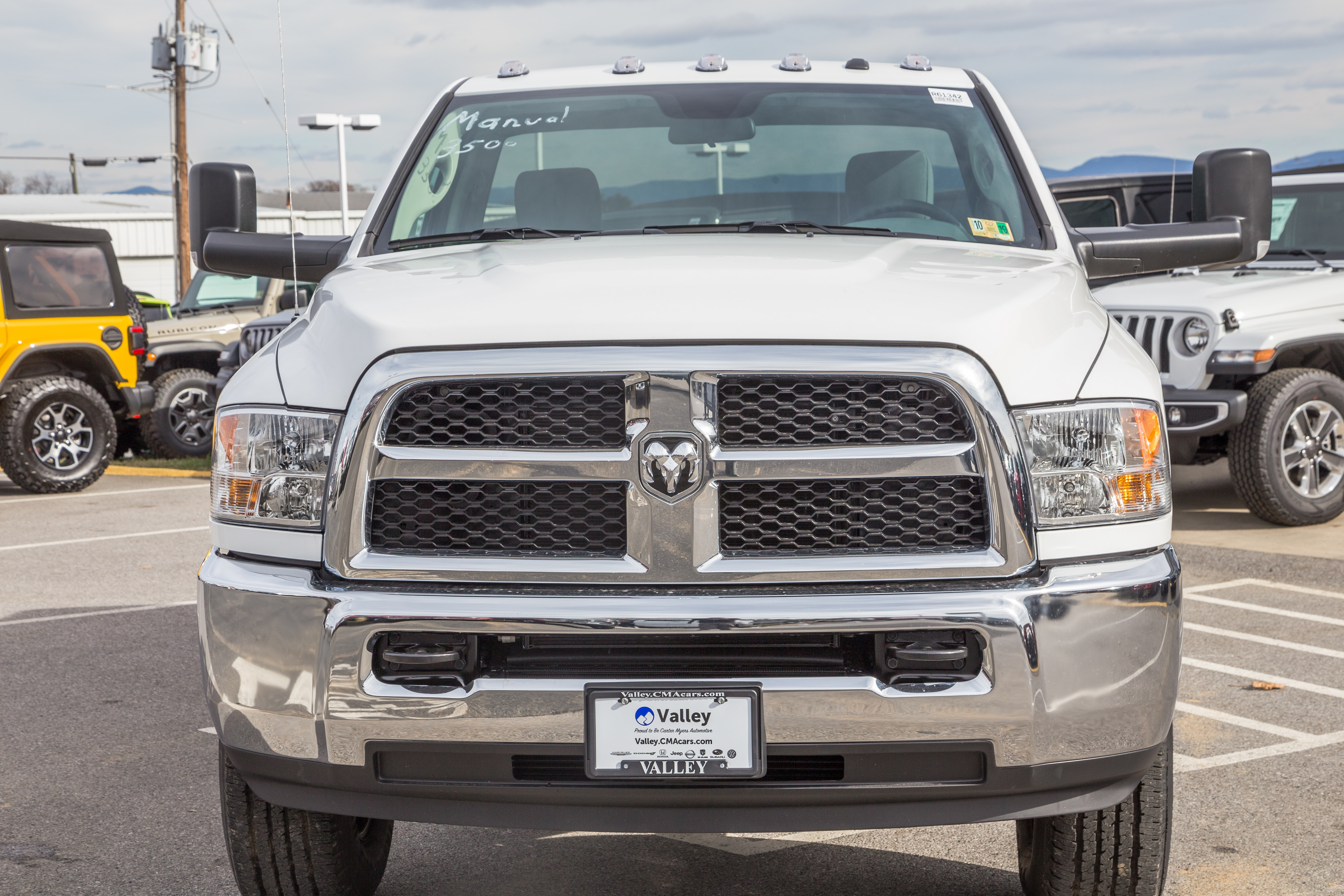 2018 Ram 3500 Regular Cab 4x4,  Pickup #R61342 - photo 5