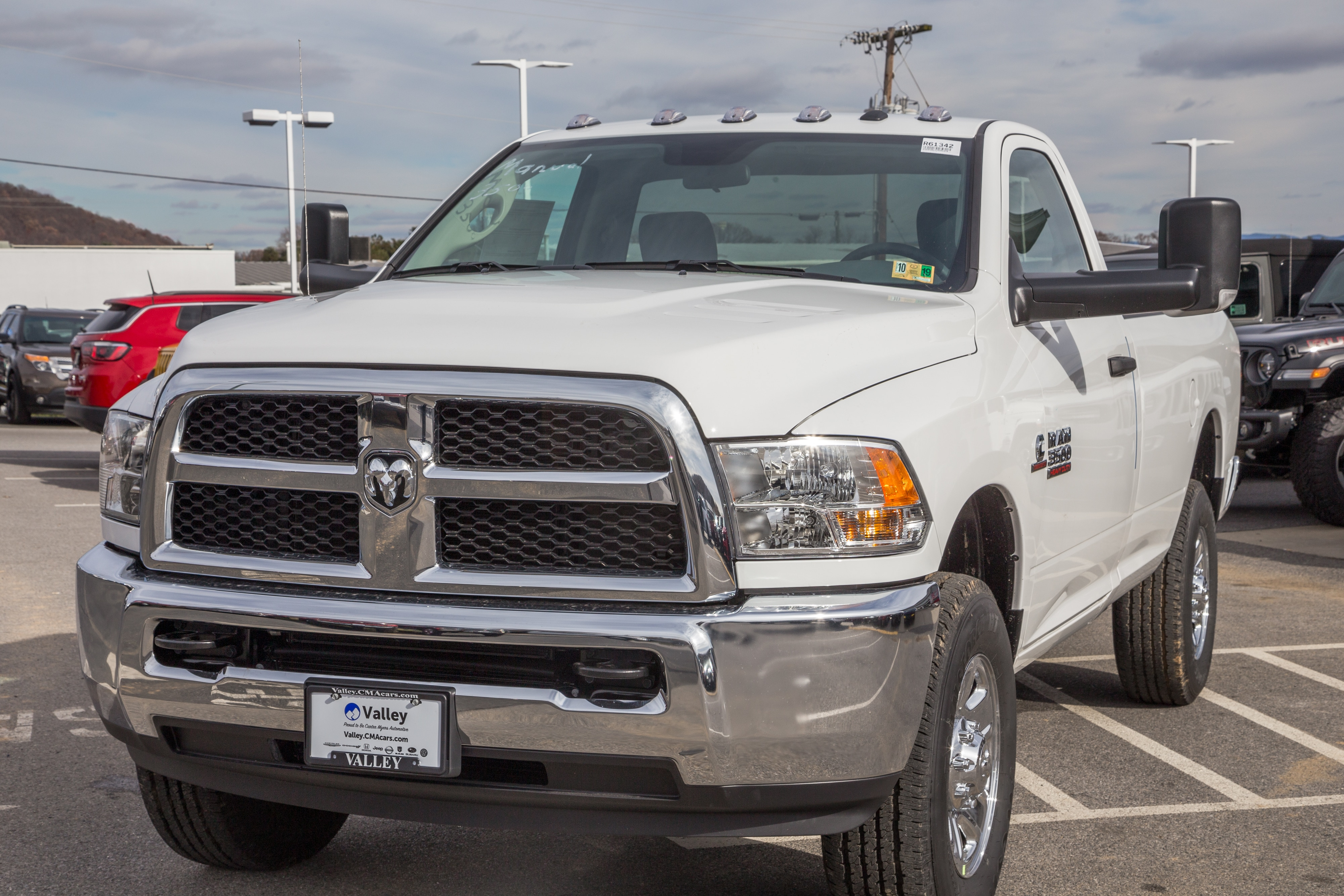 2018 Ram 3500 Regular Cab 4x4,  Pickup #R61342 - photo 3