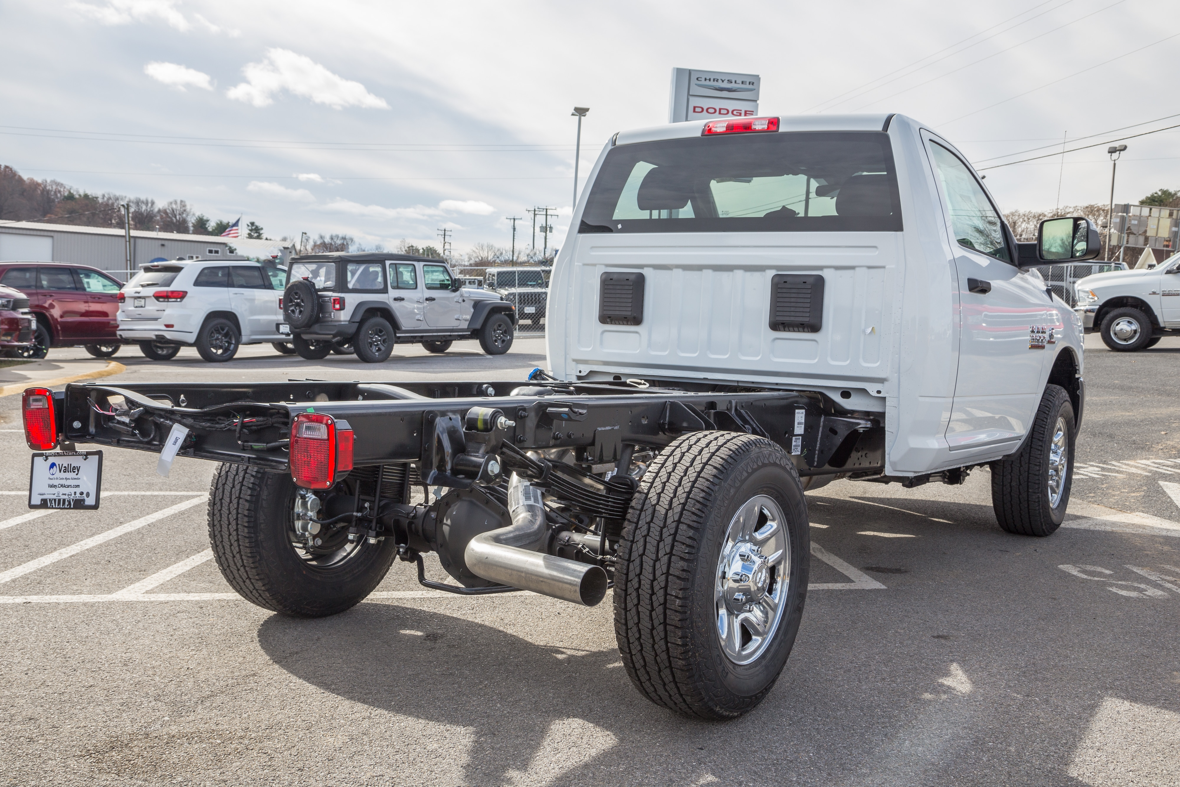 2018 Ram 3500 Regular Cab 4x4,  Cab Chassis #R61360 - photo 2