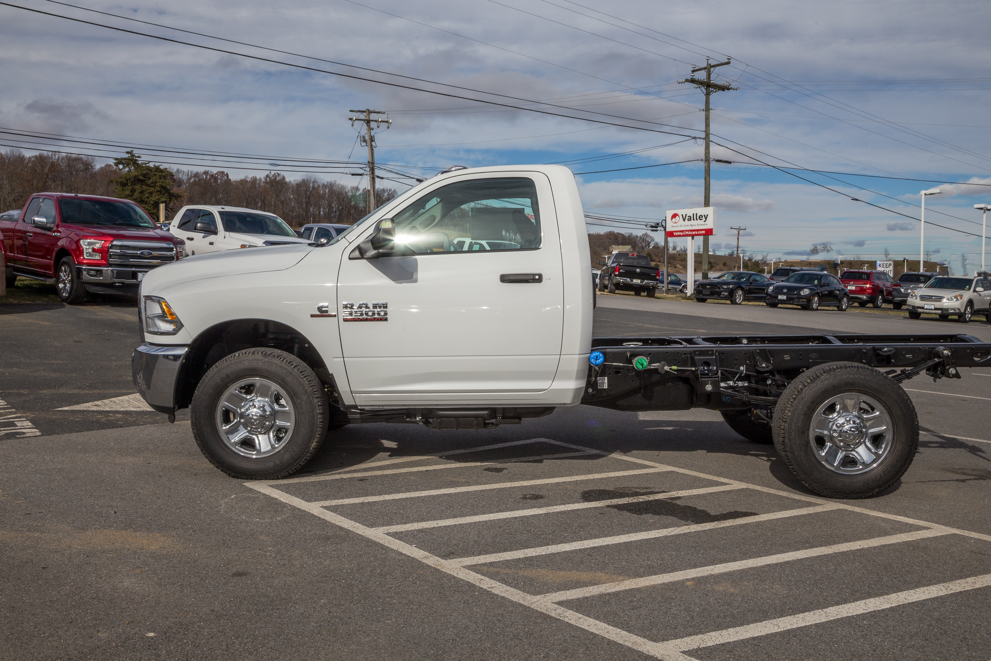 2018 Ram 3500 Regular Cab 4x4,  Cab Chassis #R61360 - photo 5
