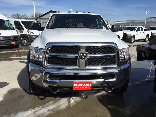 2017 Ram 5500 Crew Cab DRW 4x4, Knapheide Platform Body #R1210 - photo 4